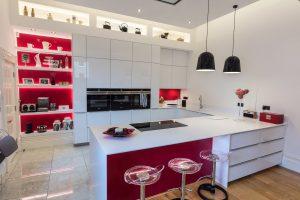 schuller glassline gloss kitchen