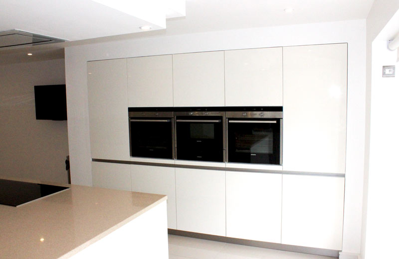 Schuller White Gloss German Kitchen for a customer in Liverpool - 5