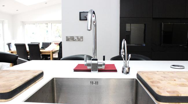 Schuller German Kitchen installation in Woolton Liverpool 2