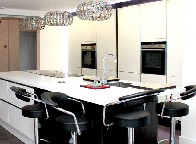 Schuller White Gloss Kitchen in Woolton, Liverpool