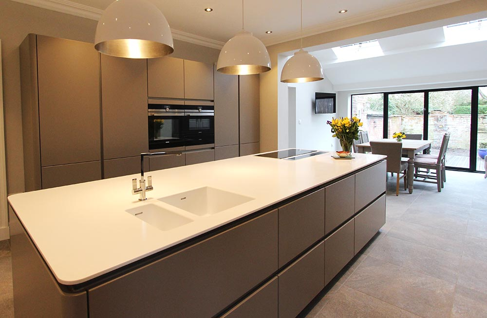 Next 125 German Kitchen for a customer in Ormskirk, Lancashire