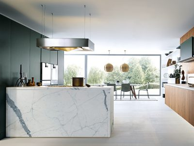 Next 125 Schuller Kitchen - NX500-Jaguar Green 1