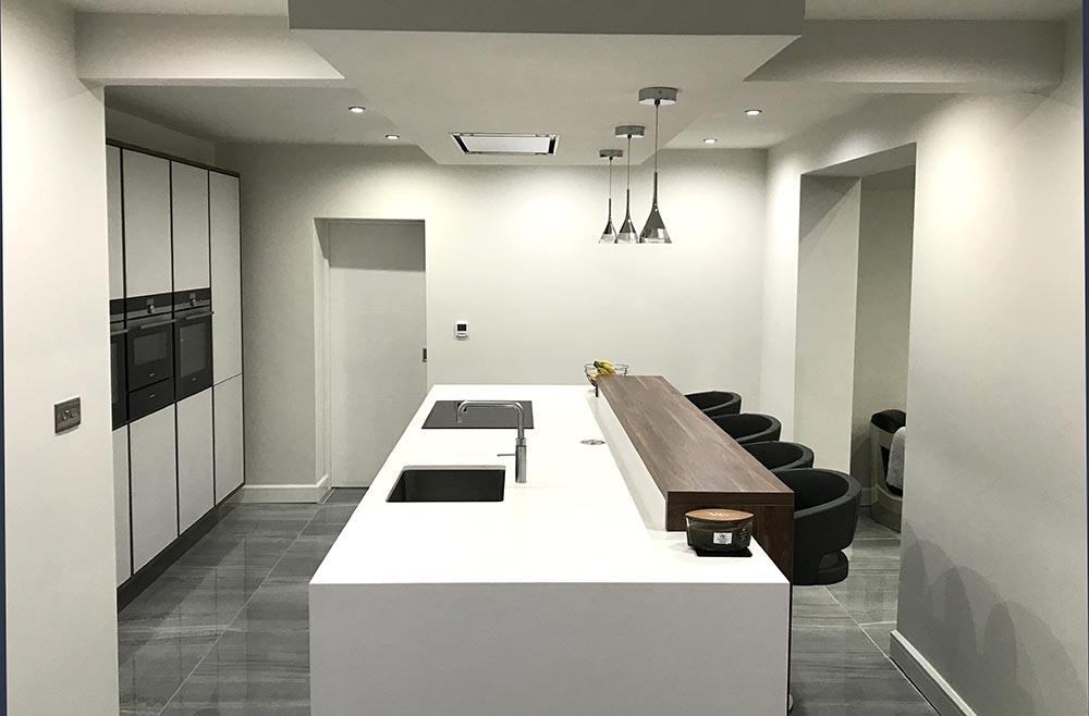 Schuller German Kitchens Next 125 NX 902 Glass Gloss Crystal Grey