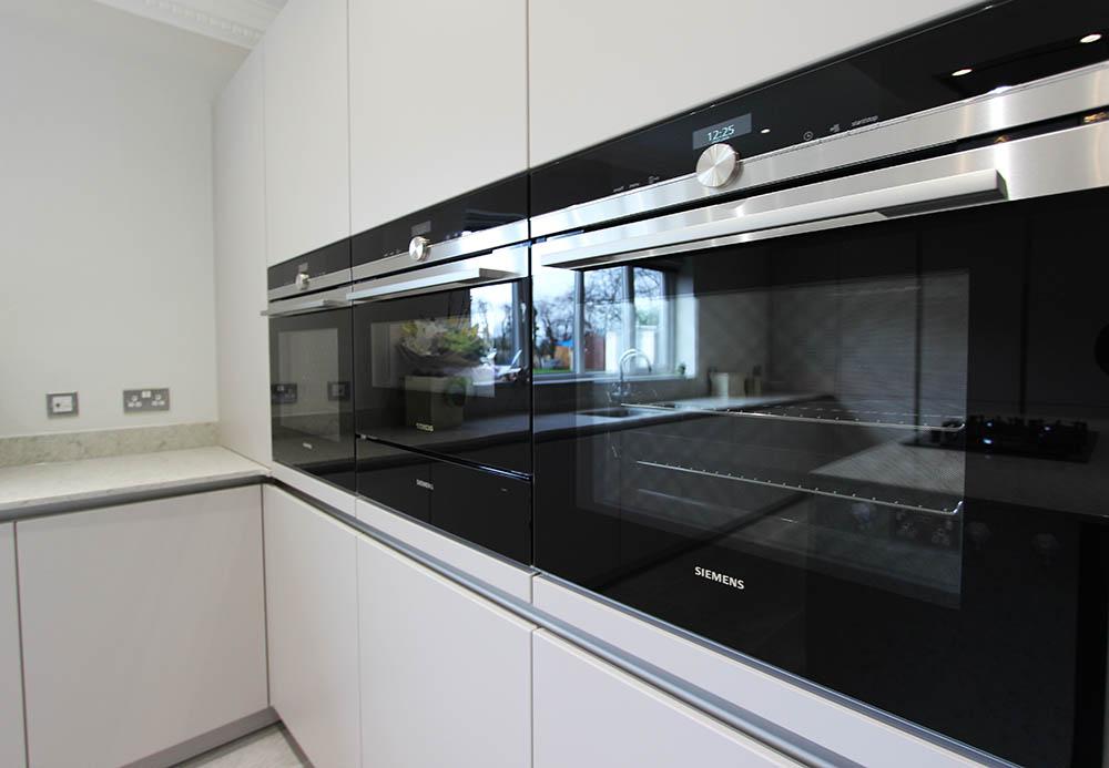 Schuller German Kitchen installation in Eccleston & Siemens
