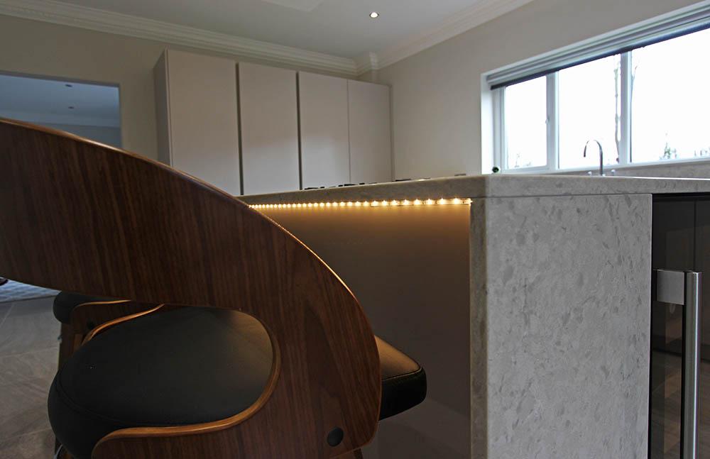Schuller German Kitchen under counter lighting