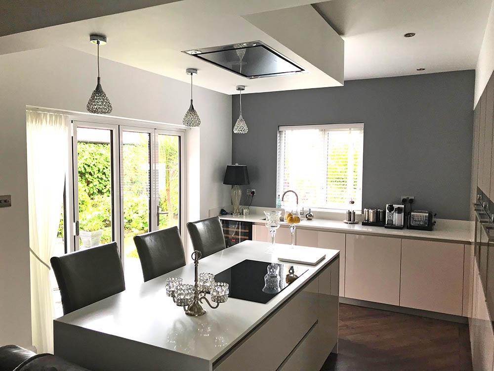 Schuller Uni Sand Grey Gloss German Kitchen in Lytham St Annes