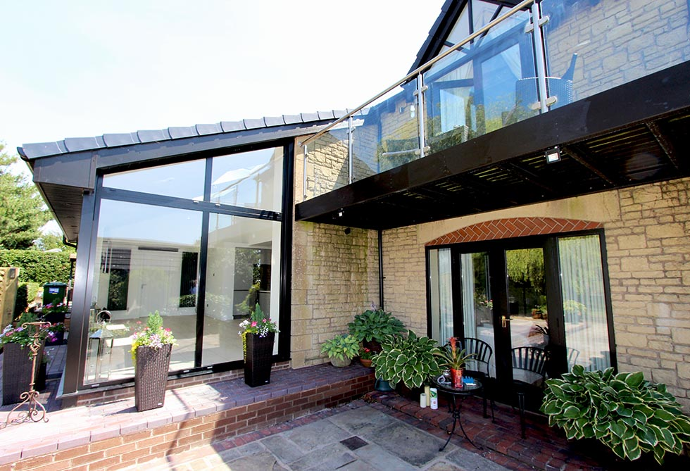 Schuller `german Kitchen and House Extension in Lancashire