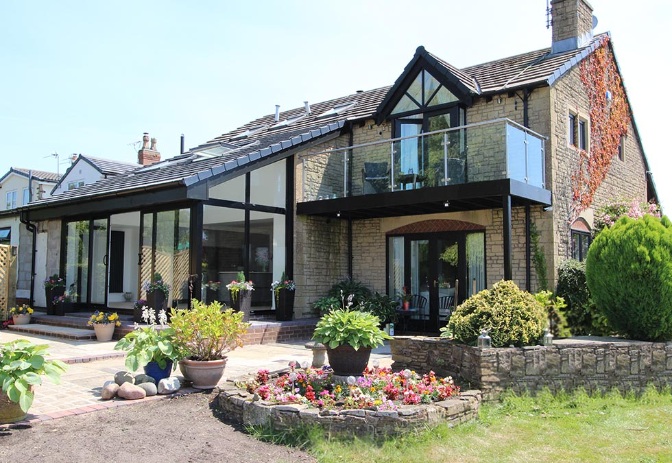 Schuller Kitchen and House Extension in Lancashire