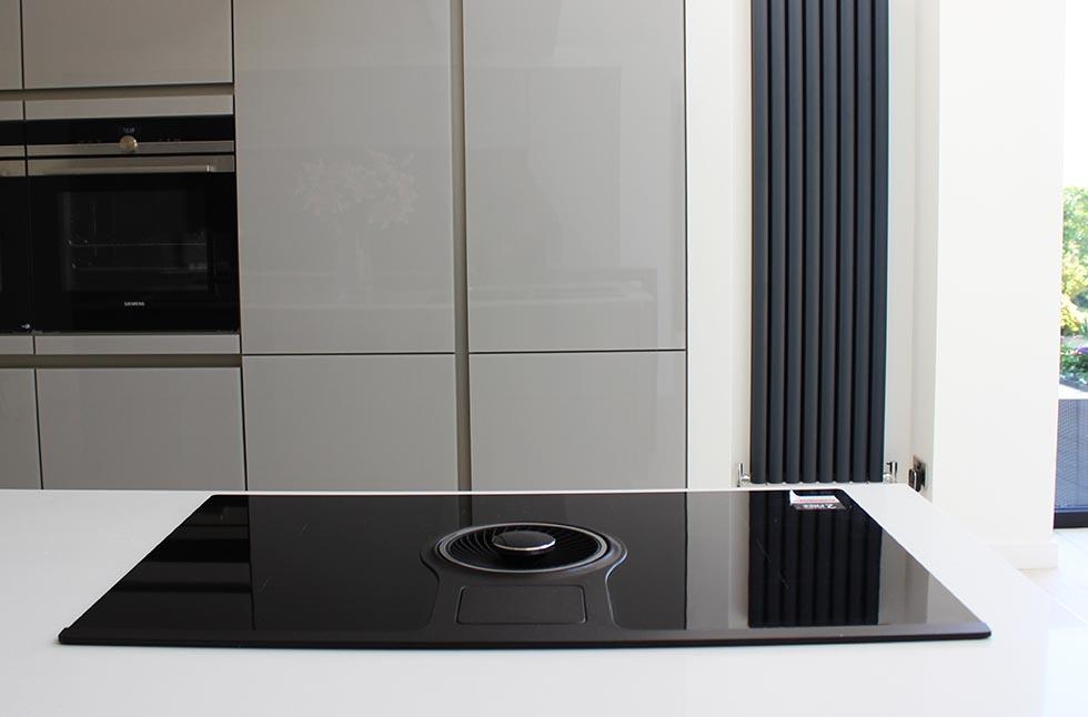 designer german kitchen and designer AEG hob