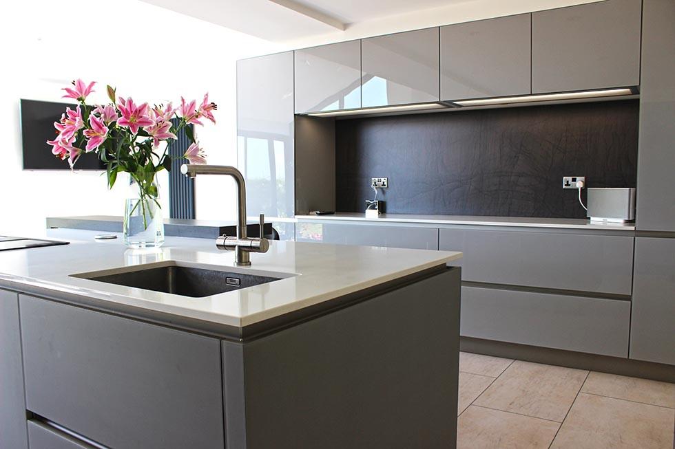 Schuller designer german kitchen and House Extension in Lancashire