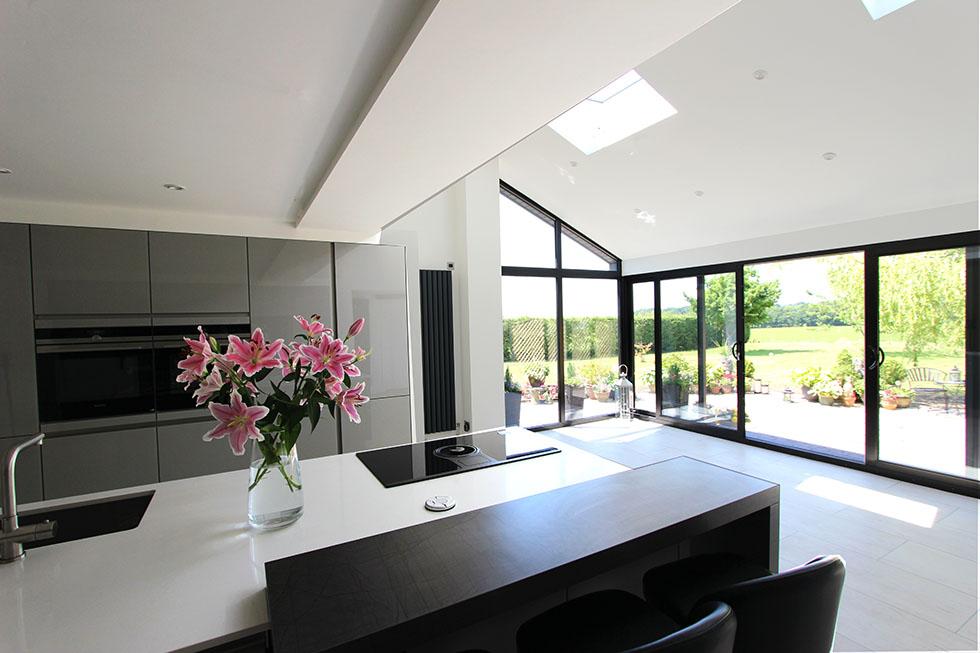 Schuller Next125 Designer Kitchen and House Extension