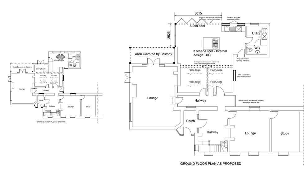 Schuller German Kitchen home extension