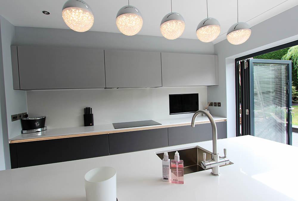 Next 125 Designer Kitchen Warrington island