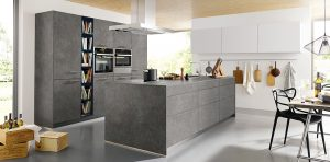 Schuller Elba K087 Ceramic steel grey