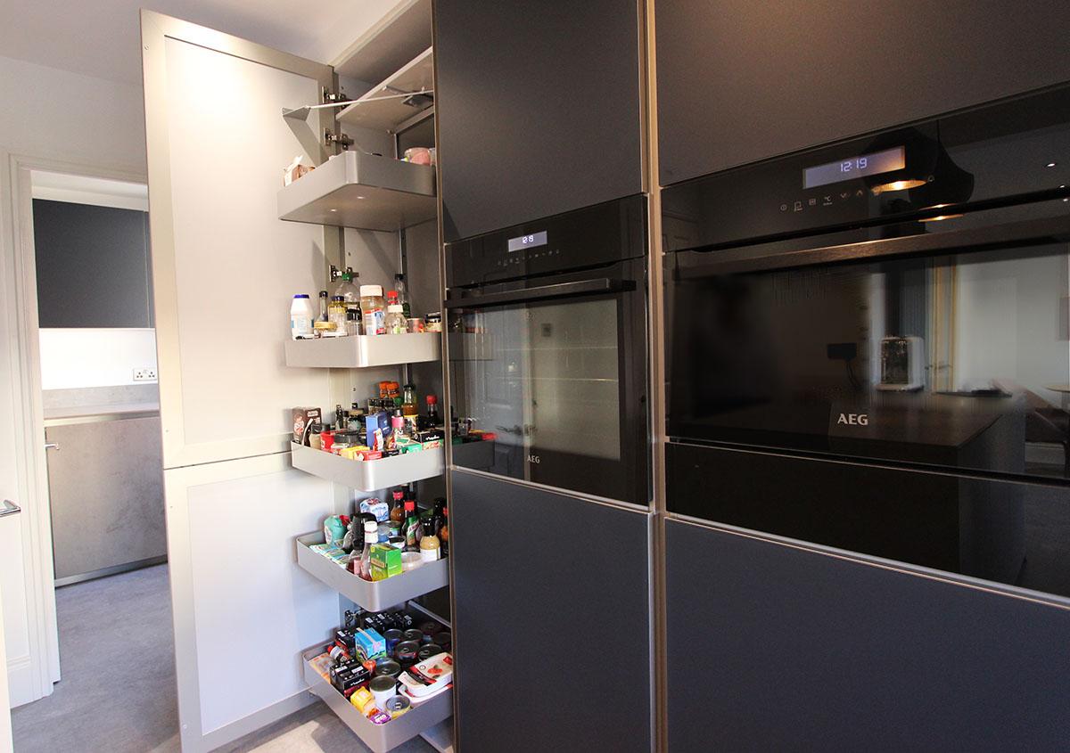 Next 125 Kitchen with Pull Out Larder Storage