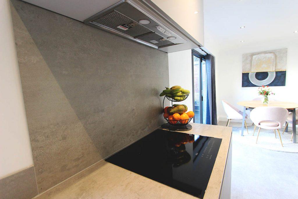 Kitchen Hob & Extraction