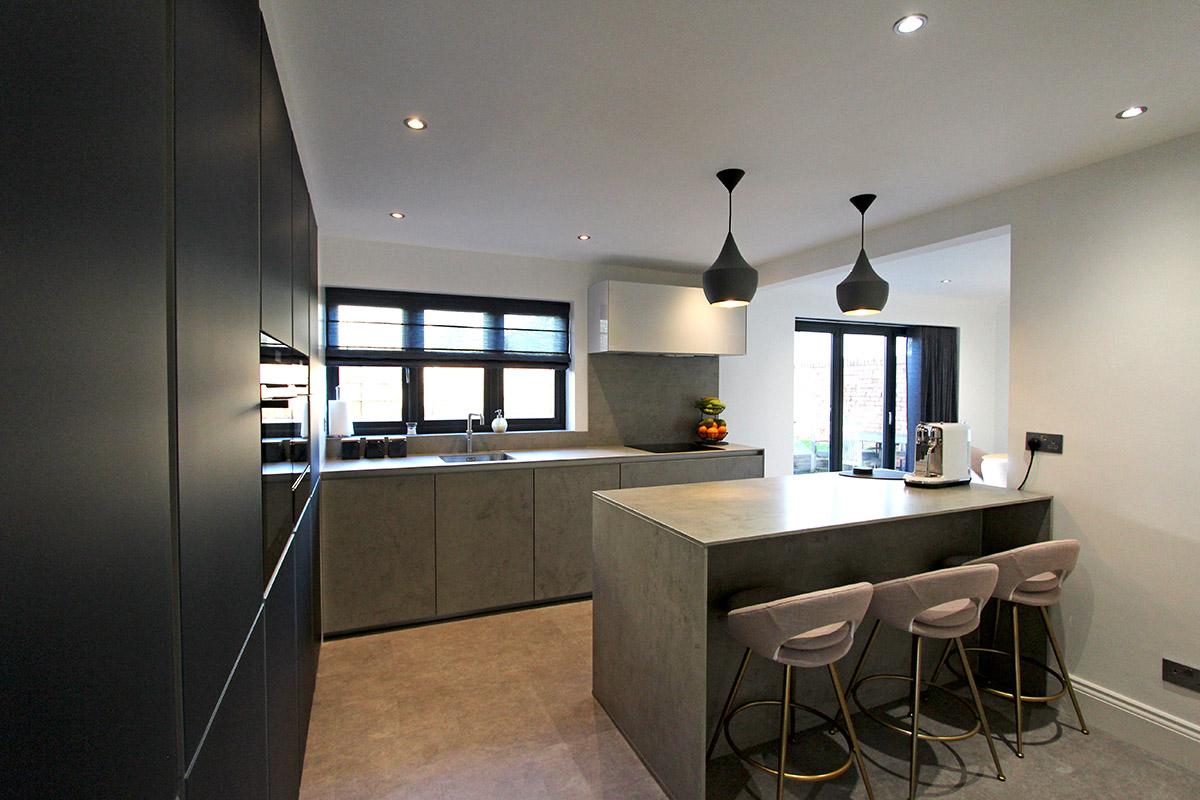 Next 125 Glassline kitchen