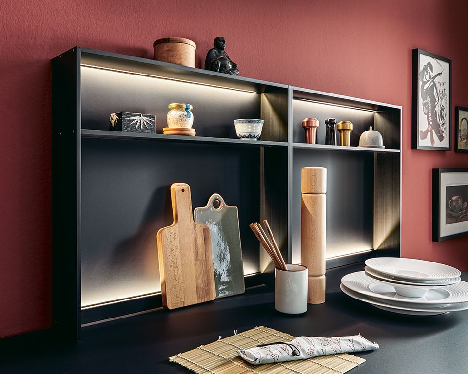 next125 kitchens NX 510 storage