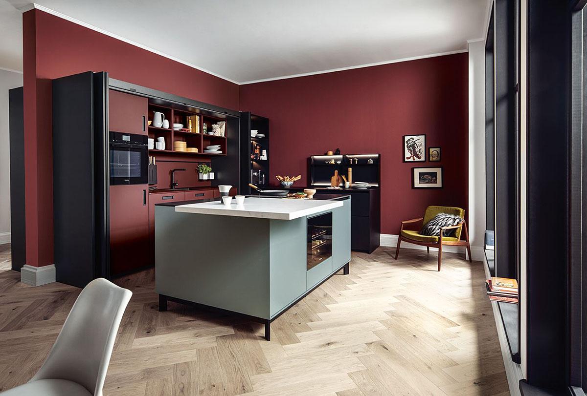 next125 kitchens Nx510 velvet Matt