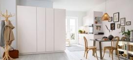 Schuller Nova Seashell White – a perfect small kitchen
