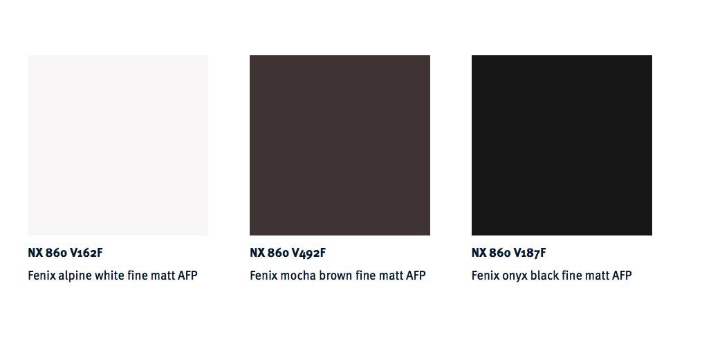Next 125 Kitchens NX 860 Door Colour Choices