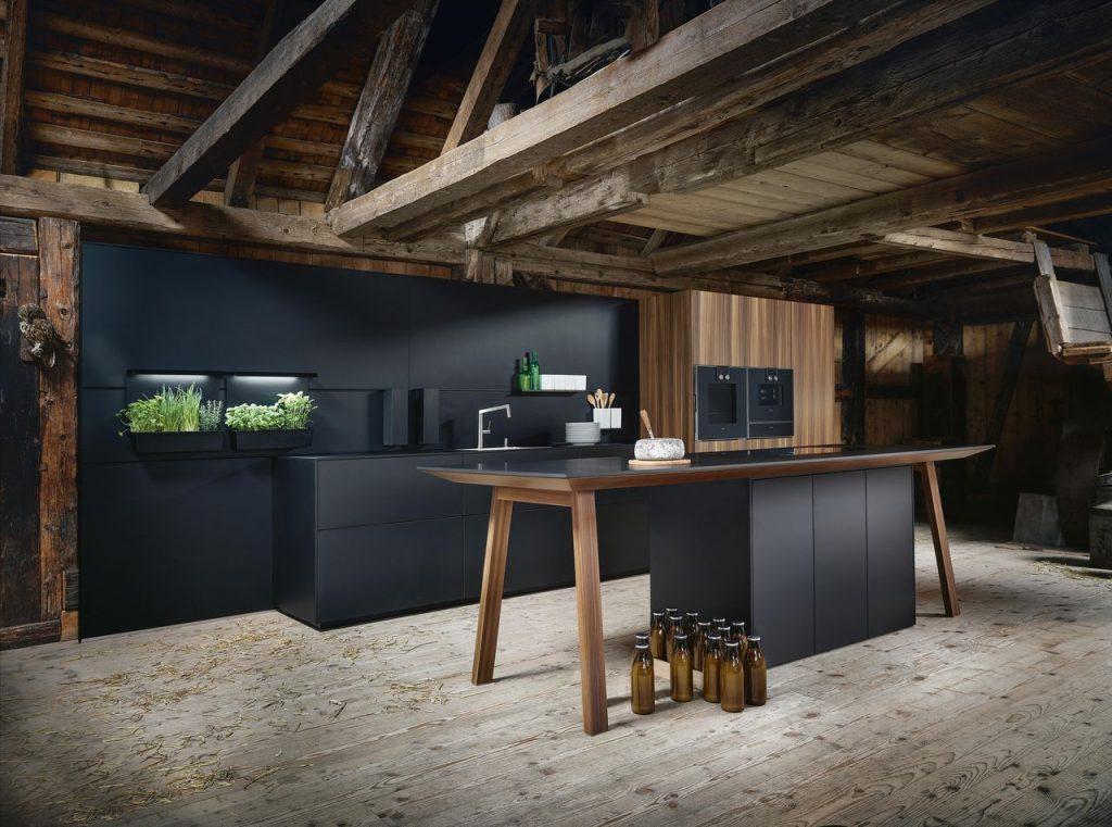 Next125 Fenix Onyx Black designer German kitchen
