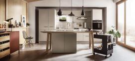 next125 kitchens NX 510 Sand Grey Matt Velvet