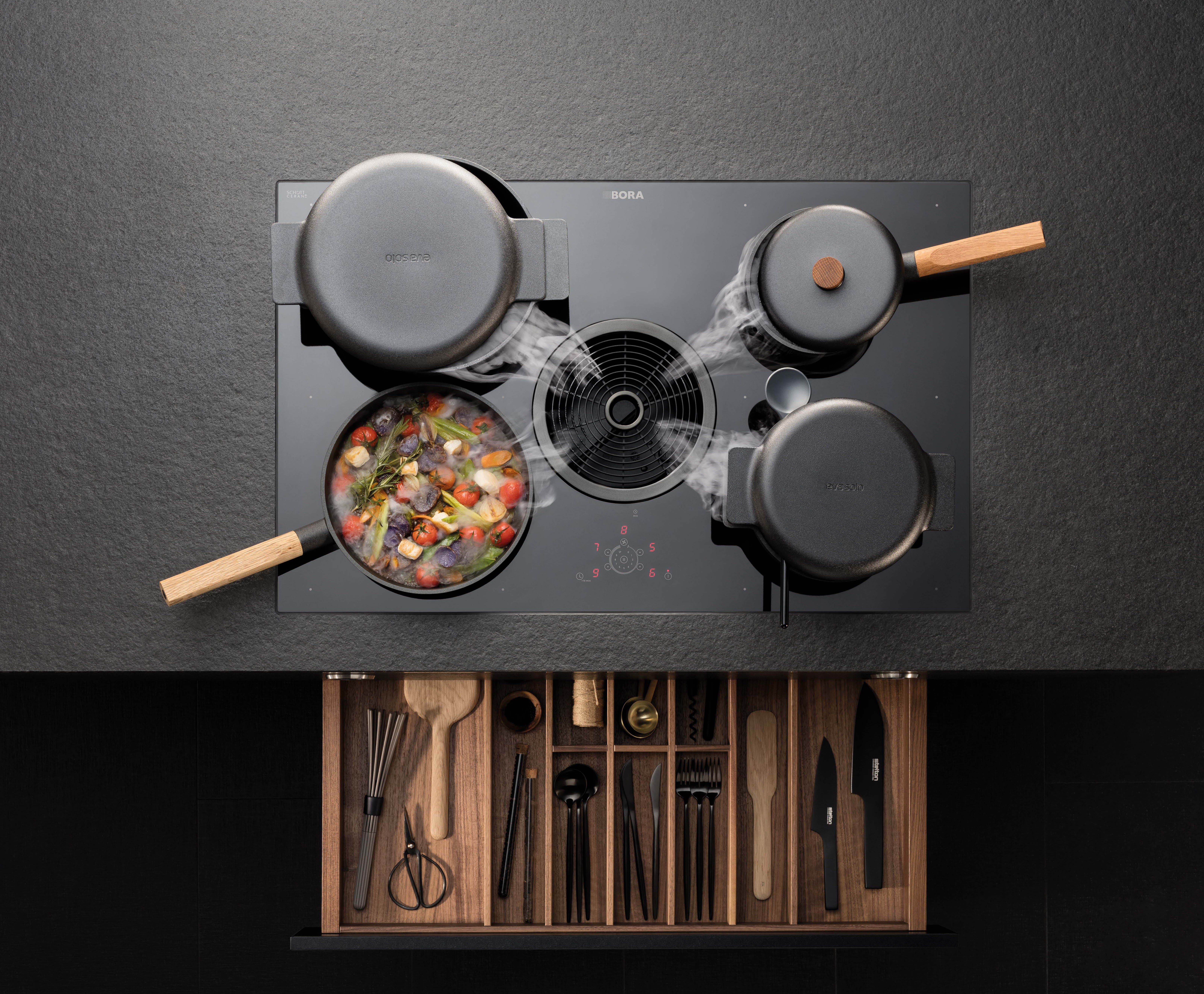 Bora Pure Hob and Extraction