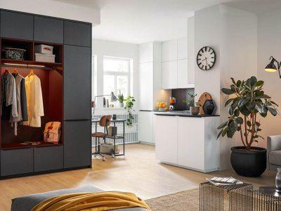 Studio Living in the City by Schuller - Fino Matt Crystal White 1