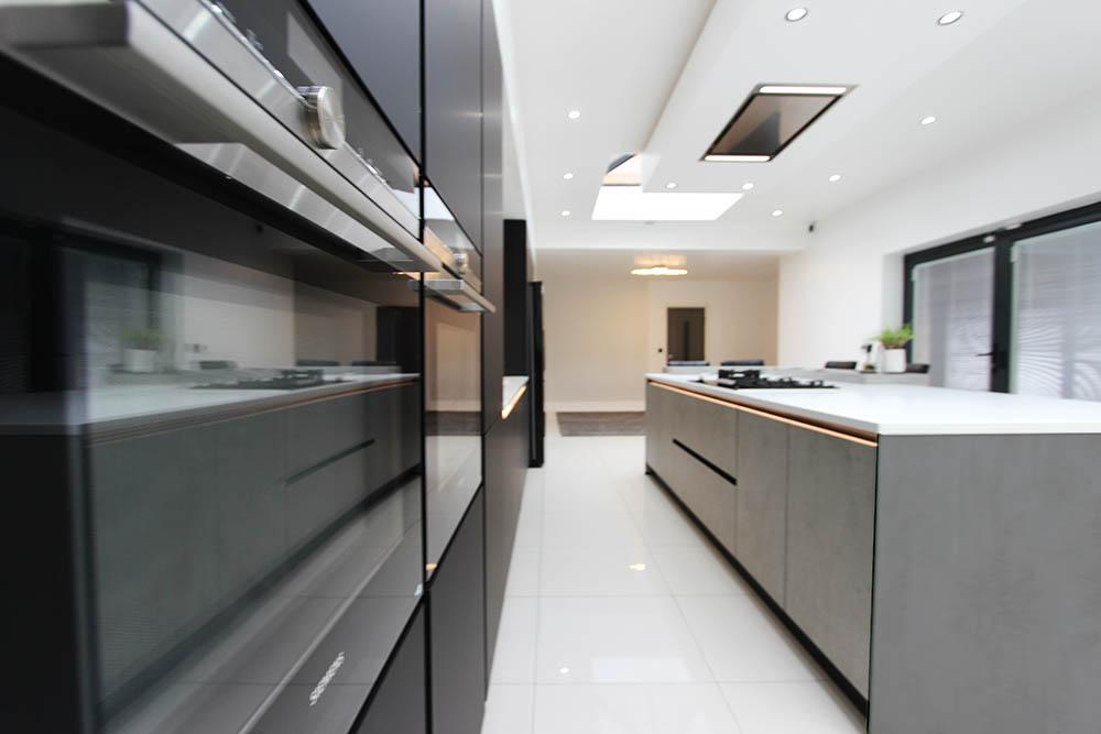 Schuller Lava Black Fenix Kitchen