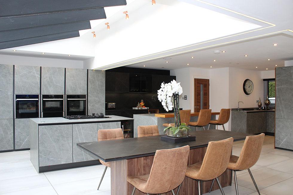 Next 125 Designer kitchen Project in Ceramic