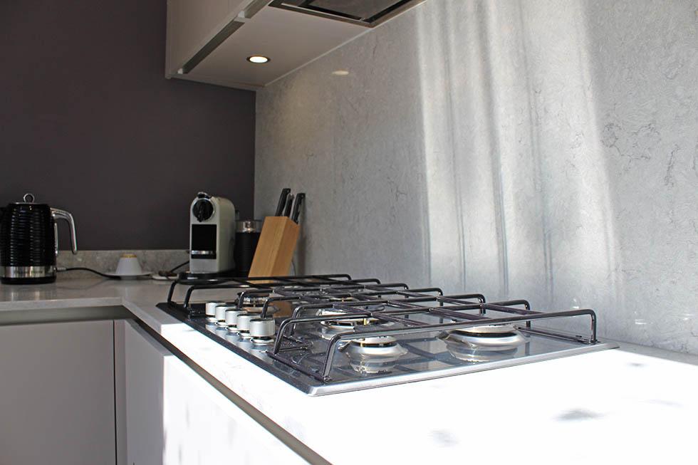 Schuller Sand Grey Matt German Kitchen