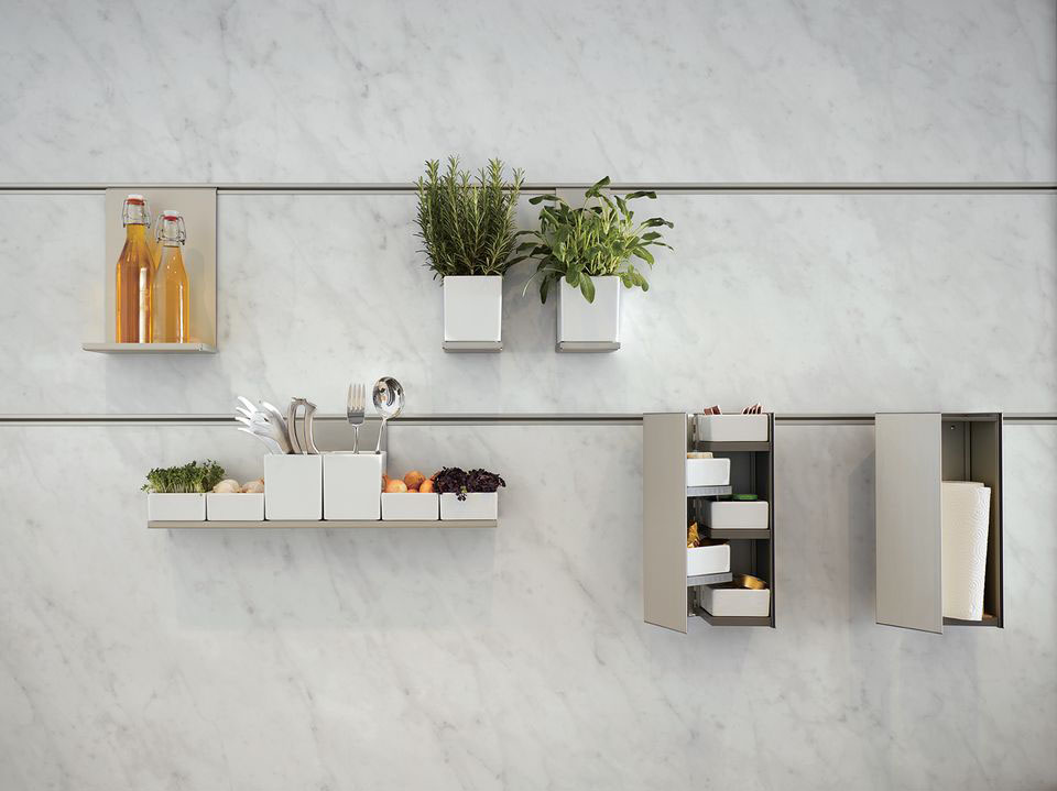 Next125 Kitchens Organiser Wall