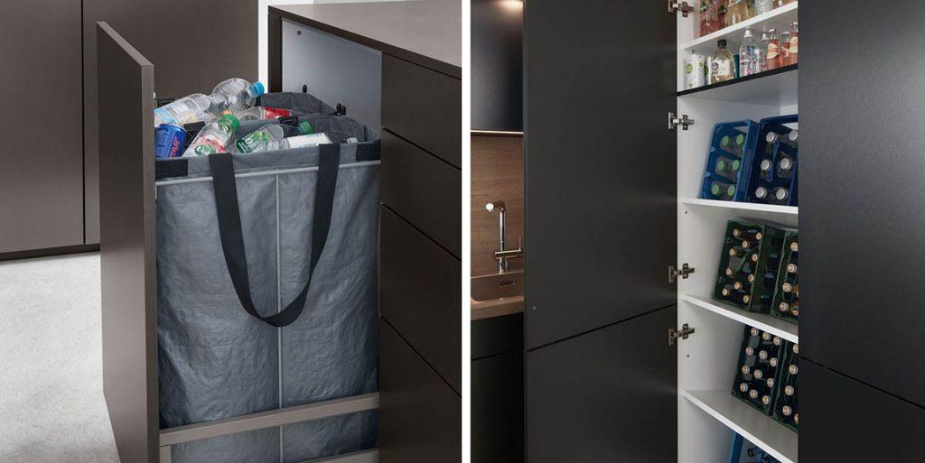 Schuller Cortina Titanium Metallic - clever storage