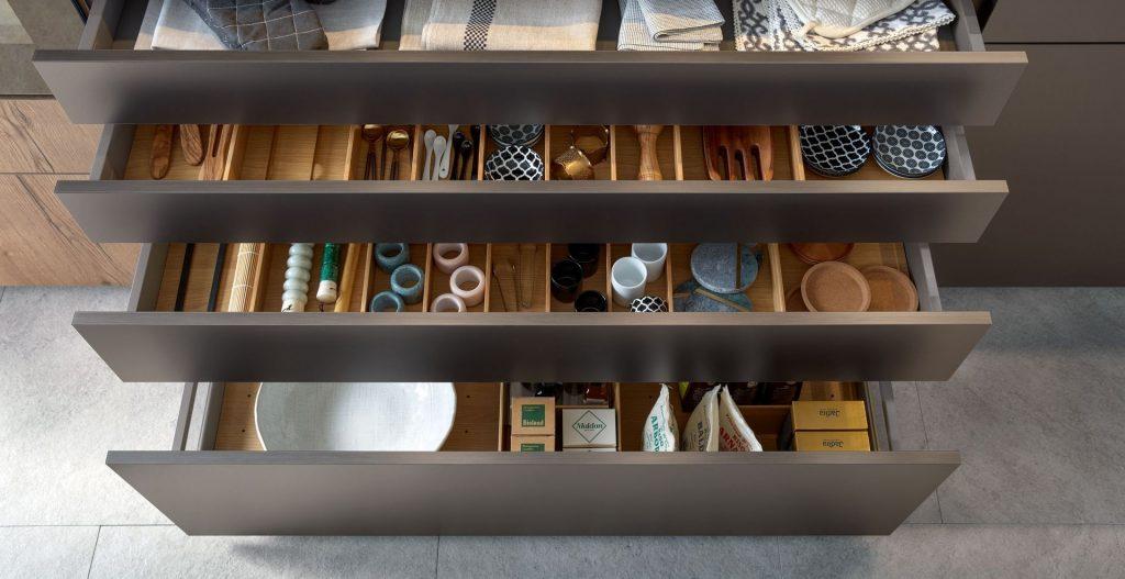 Schuller Cortina Titanium Metallic - drawer packs